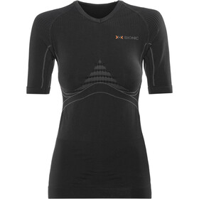 X-Bionic Energy Accumulator Blouse korte mouwen Dames, black/anthracite